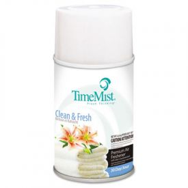 TimeMist® Metered Aerosol Fragrance Dispenser Refills, Clean, 6.6 oz