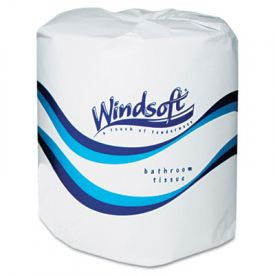 Windsoft® Facial Quality Toilet Tissue, 2-Ply, Single Roll