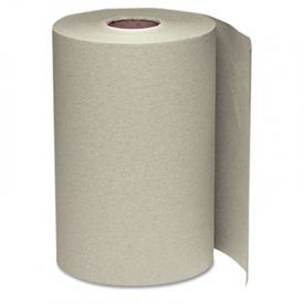 Windsoft® Nonperforated Roll Towels, 8 x 350', Natural