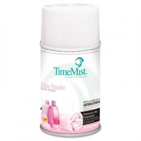 TimeMist® Metered Aerosol Fragrance Dispenser Refills, Baby Powder, 5.3oz