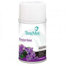 TimeMist® Metered Aerosol Fragrance Dispenser Refills, Violet, 6.6 oz