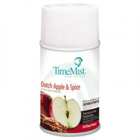 TimeMist® Metered Aerosol Dispenser Refills, Dutch Apple & Spice, 6.6 oz