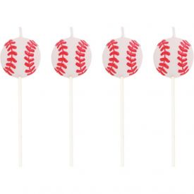 Sports Candles Baseball Molded Pick Sets