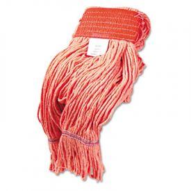 Boardwalk® Super Loop Wet Mop Heads, Cotton/Synthetic, L