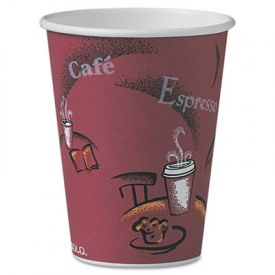 SOLO Bistro Paper Cups 12oz, 300ct.