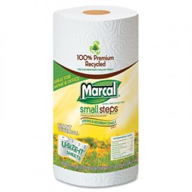 Marcal® 100% Premium Recycled Roll Towels, 5 1/2 x 11