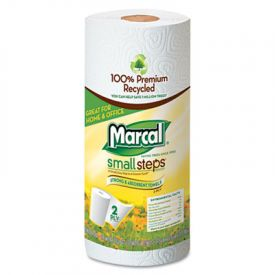 Marcal® 100% Premium Recycled Roll Towels, 9 x 11