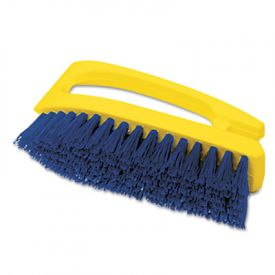 Rubbermaid® Commercial Iron-Shaped Handle Scrub Brush, 6