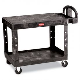 Rubbermaid® Commercial Flat Shelf Utility Cart, 25-7/8w x 43-7/8d x 33-1/3h
