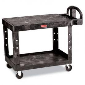 Rubbermaid® Commercial Flat Shelf Utility Cart, 25-7/8w x 43-7/8d x 33-1/3h