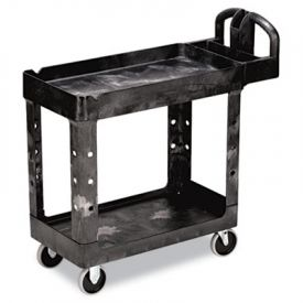 Rubbermaid® Commercial HD Utility Cart, 17-7/8w x 39-1/4d x 33-1/4h