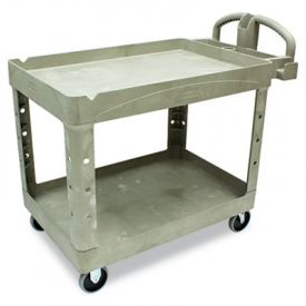 Rubbermaid® Commercial HD Utility Cart, 500-lb Capacity; 25 7/8w x 45 1/4d x 33 1/4h