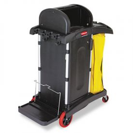 Rubbermaid® Commercial High-Sec. Healthcare Cleaning Cart, 22 x 48-1/4