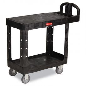 Rubbermaid® Commercial Flat Shelf Utility Cart, 19-3/16w x 37-7/8d x 33-1/3h