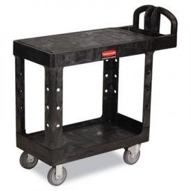 Rubbermaid® Commercial Flat Shelf Utility Cart, 19-3/16w x 37-7/8d x 33-1/3h