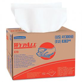 WypAll* X70 Wipers, BRAG Box, 12 1/2 x 16 4/5, White