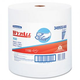WypAll* X60 Wipers, Jumbo Roll, 12 1/2 x 13 2/5