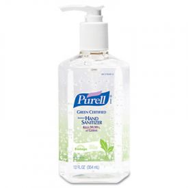 PURELL® GreenCertified Instant Hand Sanitizer Gel 12 oz Pump Bottle Clear **Unavailable until Mid March**