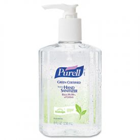 PURELL® GreenCertified Instant Hand Sanitizer Gel 8 oz Pump Clear **Unavailable until Mid March**