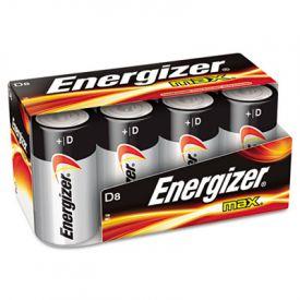 Energizer® MAX® Alkaline Batteries, D