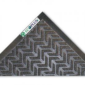 Crown EcoPlus+™ Wiper/Scraper Mat, P.E.T. Polyester, 35 x 59, Charcoal