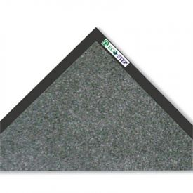 Crown EcoStep™ Wiper Mat, P.E.T. Polyester, 36 x 120, Charcoal