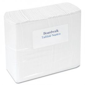Boardwalk® Tall Fold Dispenser Napkins, 7