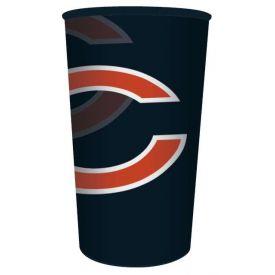 NFL Chicago Bears 22 oz Plastic Souvenir Cup