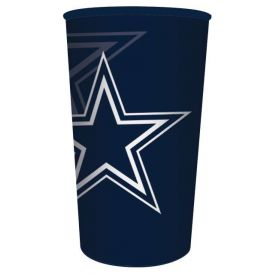 NFL Dallas Cowboys Plastic Souvenir Cup 22 oz