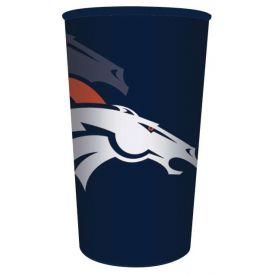 NFL Denver Broncos 22 oz Plastic Souvenir Cup