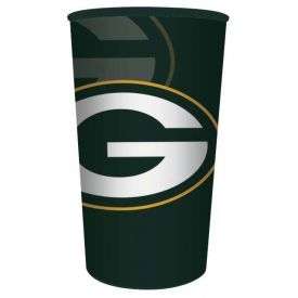 NFL Green Bay Packers 22 oz Plastic Souvenir Cup