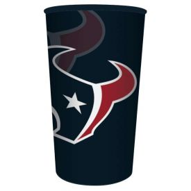 NFL Houston Texans 22 oz Plastic Souvenir Cup