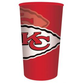 NFL Kansas City Chiefs 22 oz Plastic Souvenir Cup