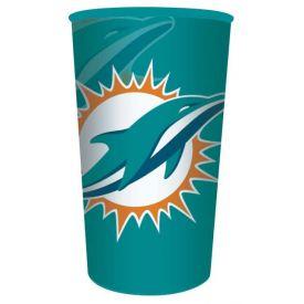 NFL Miami Dolphins 22 oz Plastic Souvenir Cup