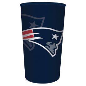 NFL New England Patriots 22 oz Plastic Souvenir Cup