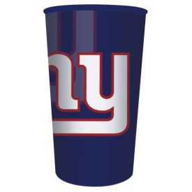 NFL New York Giants 22 oz Plastic Souvenir Cup