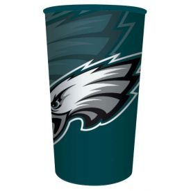 NFL Philadelphia Eagles Heavy Duty Plastic Souvenir Cups 22oz.