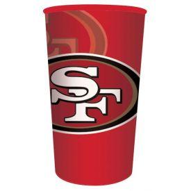 NFL San Francisco 49ers 22 oz Plastic Souvenir Cup