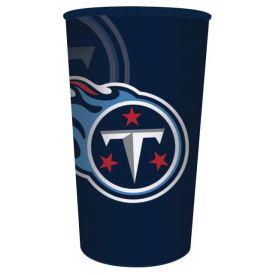 NFL Tennessee Titans 22 oz Plastic Souvenir Cup