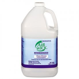 Air Wick® Liquid Deodorizer, Clean Breeze Scent, Concentrate, 1 Gal