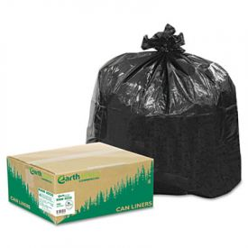 Earthsense; Linear LD Recycled Can Liners, 33 x 39, 31-33 Gal, 1.25 mil