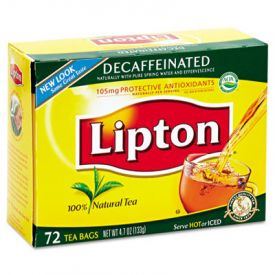 Lipton® Tea Bags, Decaffeinated