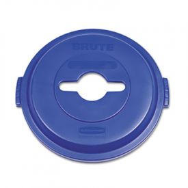 Rubbermaid® Commercial Brute® Recycling Top, Blue