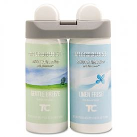 Rubbermaid Microburst Duet Refills, Gentle Breeze, 3oz, Aerosol