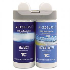 Rubbermaid® Microburst Duet Refills, Ocean Breeze, 3oz, Aerosol