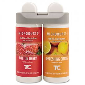 Rubbermaid® Microburst Duet Refills, Cotton Berry Citrus, 3oz, Aerosol