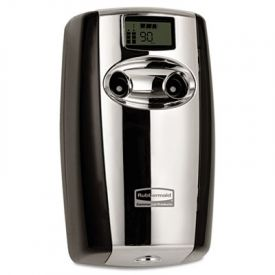Rubbermaid® MicroburstDuet Odor Control System, Black/Chrome