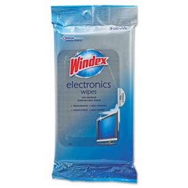 Windex® Electronics-Cleaner Wipes, 25 Wipes/Box