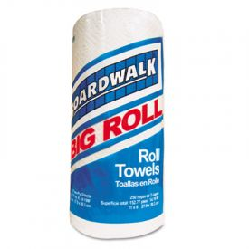 Boardwalk® Household Perforated Towel Rolls, 2-Ply, White, 11 x 8 1/2