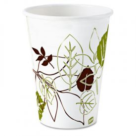 Dixie® Pathways; Paper Hot Cups, 8 oz